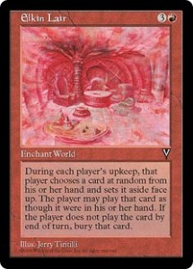 Elkin Lair was a Three Wishes for All Players from Visions