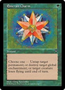 Emerald Charm from Visions