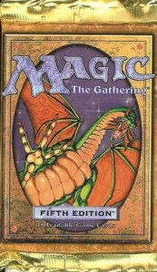 Fifth Edition Magic the Gathering Booster Pack