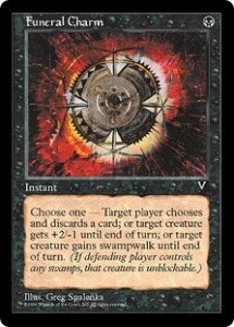 Funeral Charm from Visions