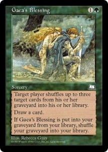 Gaea's Blessing from Weatherlight