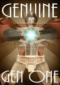 Genuine Gen One by wordmongerer