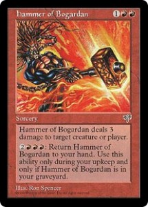 Hammer of Bogardan from Mirage