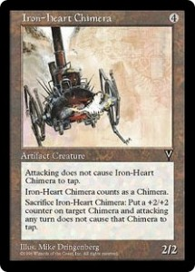 Iron-heart Chimera on of the Four Chimeras in Visions