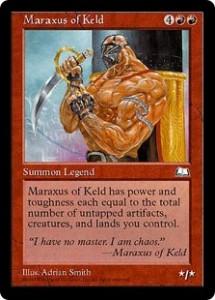 Maraxus of Keld from Weatherlight