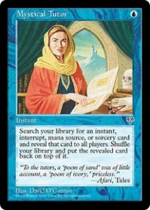 Mystical Tutor from Mirage