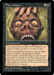 Necromancy from Visions