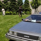 Only at a Fan Festival will you see Jedi fighting near a Delorean