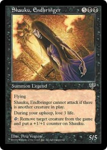 Shauku, Endbringer the Legend from Mirage