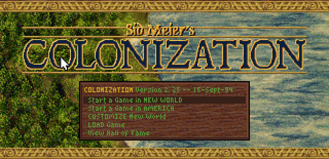Sid Meier's Colonization 1995 Retro Gaming Revisited Review