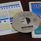Sid Meier's Colonization CD, Instruction Manual and Player Aids
