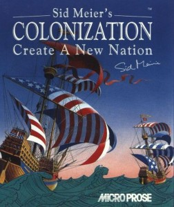 Sid Meier's Colonization Cover from 1994