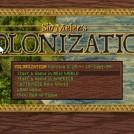 Sid Meier's Colonization Start Screen
