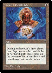 Teferi's Puzzle Box from Visions
