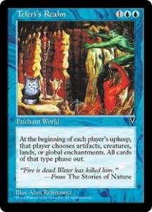 Teferi's Realm from Visions