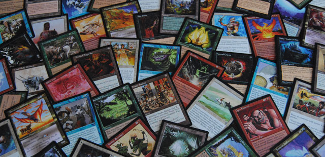 The Visions Expansion Set from Magic the Gathering