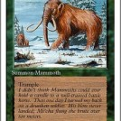 War Mammoth from Fourth Edition