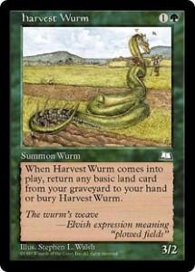 harvest Wurm from Weatherlight