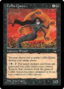Coffin Queen allowed you to steal your opponent's deceased