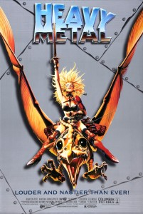 Heavy Metal Movie Poster 1981 1996
