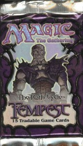 Magic the Gathering Tempest Booster Pack - The Rath Cycle