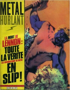 Metal Hurlant was a French Magazine brought to the US by National Lampoon