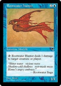 Rootwater hunter the Merfolk Tim from Tempest