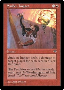 Sudden Impact was the Red Storm Seeker from Tempest