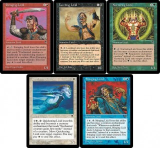 The First Five Licids in Magic from Tempest