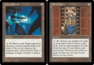 The Scrolls of Tempest: Cursed Scroll and Scroll Rack