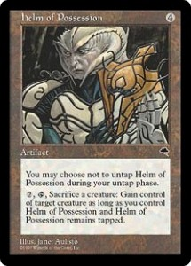 helm of Possession was a great way to steal your opponents creatures