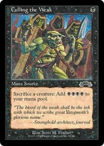Culling of the Weak a Mana Source from Exodus