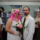 Dr. Krieger and his Virtual Wife at The Great Allentown Comic Con