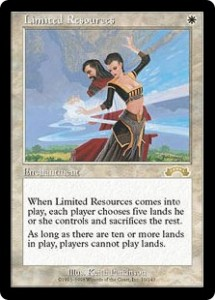 Limited Resources from Exodus