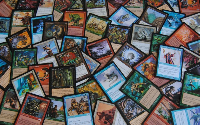 Magic the Gathering cards from the Exodus Expansion Set