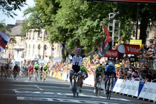 Marcel Kittel lead all German Riders in the 2014 Tour with the Most Stage Victories
