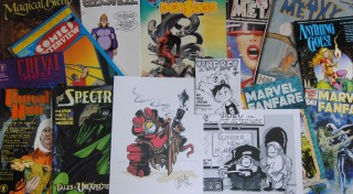 My loot from the 2014 Great Allentown Comic Con Summer Show