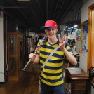 Ness from Earthbound at The Great Allentown Comic Con