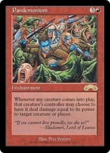 Pandemonium from Exodus was pur Chaos