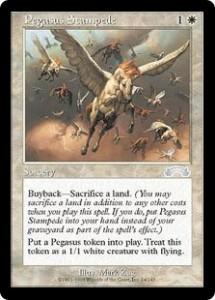 Pegasus Stampede from Exodus