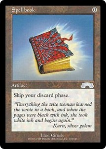 Spellbook from Exodus was a simplified Library of Leng