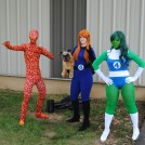Three out of Four Members of the Fantastic Four