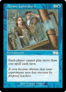 Arcane Laboratory from Urza's Saga