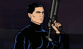 Archer in his tactical turtleneck
