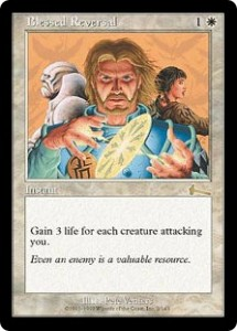 Blessed Reversal from Urza's Legacy