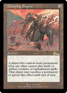 Damping Engine from Urza's Legacy