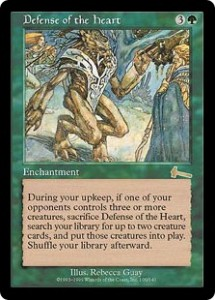 Defense of the heart from Urza's Legacy