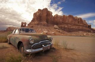 Desert Buick by Ryan M Logan aka RollingFishays on DeviantArt.com