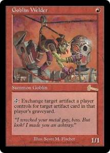 Goblin Welder from Urza's Legacy