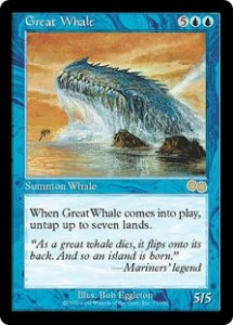 Great Whale from Urza's Saga